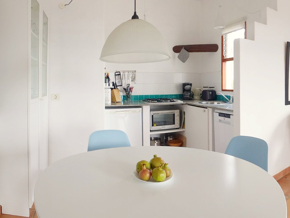Finca Vistamar Casa Azul Essbereich Küche