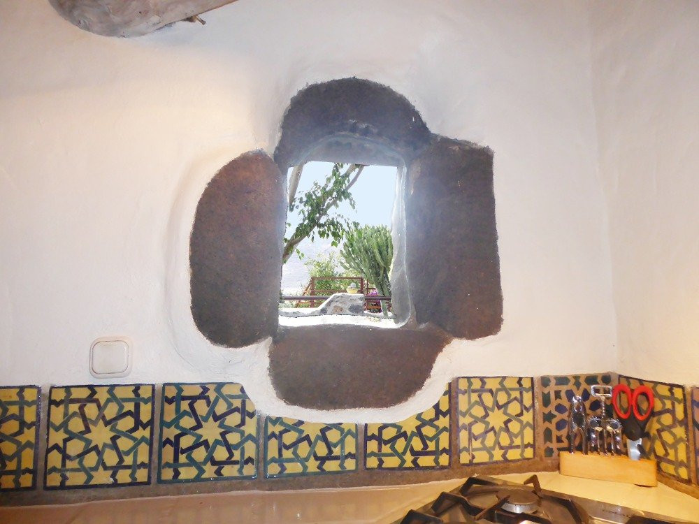Finca Luciana El Campo Küchenfenster